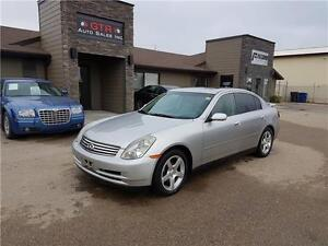 2004 Infiniti G35 Sedan *HEATED LEATHER SEATS, POWER SUNROOF*