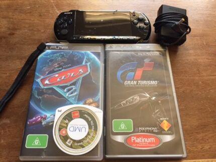 PSP + 3 games Leederville Vincent Area Preview