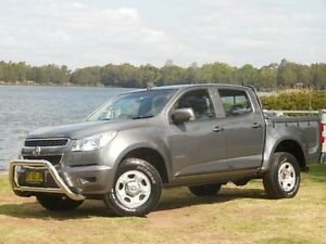 2013 Holden Colorado RG LX Grey Manual 4dr Ute Lansvale Liverpool Area Preview