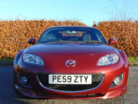 MAZDA MX-5 1.8 I ROADSTER SE 2d convertible (red) 2009