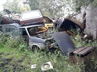 Classic car project unfinished spares or repair barn find