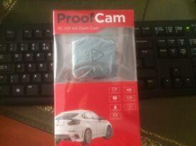 Dash Cam - Proof Cam PC105HD - Brand New. Still Boxed