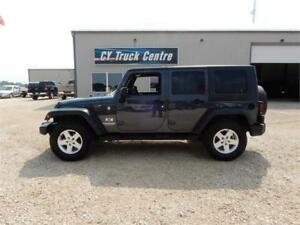 2007 Jeep Wrangler X Unlimited Hard & Soft Top 4x4