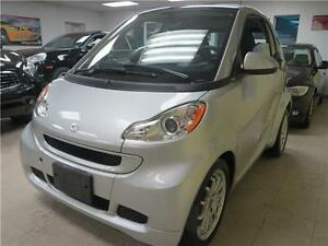 SMART FORTWO 2011 SILVER MINT CONDITION