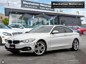 2015 BMW 428i X-DRIVE |NAV|CAMERA|1OWNER|PARKASSIST|WARRANTY|