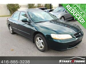 2000 Honda Accord EX LEATHER, SUNROOF, CERTIFIED & ETESTED