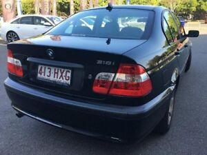 2004 BMW 318I E46 Sedan 4dr Steptronic 5sp 2.0i [MY04] Sapphire Black Sports Automatic Sedan