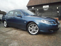 0757 SAAB 9-5 2.3t VECTOR SPORT AUTOMATIC SALOON 62K FMDSH NEW MOT NO ADVISORIES