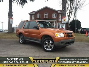 2001 Ford Explorer Sport SPORT|2DR|Chrome Rims|4x4|Trailer Hitch