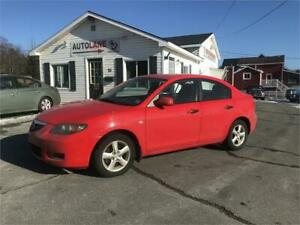 2008 Mazda 3 Sedan New MVI with Winter Tires!