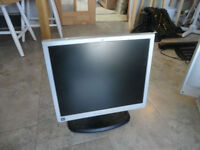 "Multiple Working 15-17"" Monitors. $20-30."