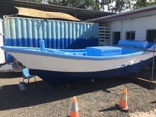 Mackerel Dory fresh paint and anti-foul Portsmith Cairns City Preview