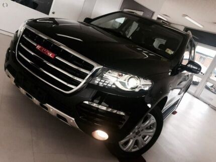 2016 Haval H8 Premium 2WD Black 6 Speed Sports Automatic Wagon
