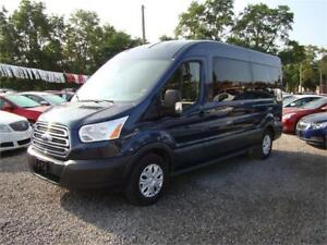 2015 Ford Transit Wagon XLT 15 Passenger Medium Roof Ecoboost