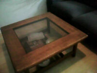 *URGENT* COFFEE TABLE AND END TABLE $40