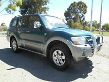2003 Mitsubishi Pajero NP Exceed LWB (4x4) Green 5 Speed Auto Sports Mode Wagon Nailsworth Prospect Area Preview