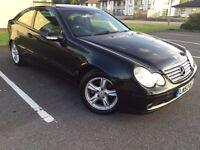 Mercedes-Benz C Class 1.8 C200 Kompressor SE 2dr Coupe Stunning example, Swap/Px golf a3 c5 focus