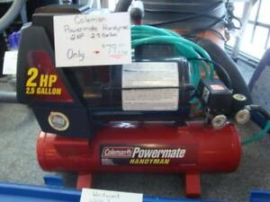 Coleman handyman 2 HP 2.5 Gallom Air Compressor