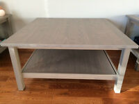 Solid Pine Coffee Table (Antique Grey Stain)