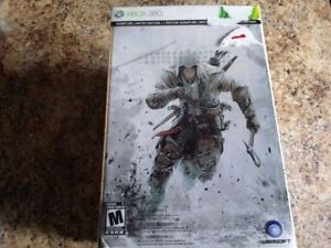 Edition collector Assassin's creed 3 Xbox 360