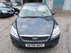 FORD FOCUS 1.4 STYLE 5d 80 BHP ideal family car, 6 month warr (grey) 2008