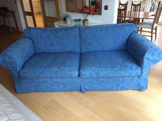 Sofa - W 232cm, D 107cm, H 94cm.