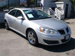 2010 PONTIAC G6 SE * LOADED WITH OPTIONS * SATELLITE RADIO *