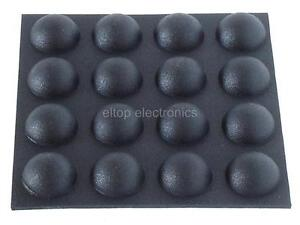 16x-Round-Rubber-Foot-Self-Adhesive-Black-Feet-RF06