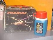 Vintage Metal Lunch Box