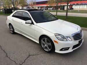 2011 MERCEDES-BENZ E350 4MATIC*NAVI*PANO*AMG*1OWNER/NO ACCIDENTS