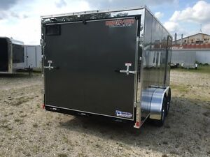 7x14 Enclosed Cargo Trailer Kitchener / Waterloo Kitchener Area image 4