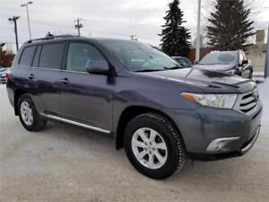 2013 Toyota Highlander AWD Leather Back up Camera