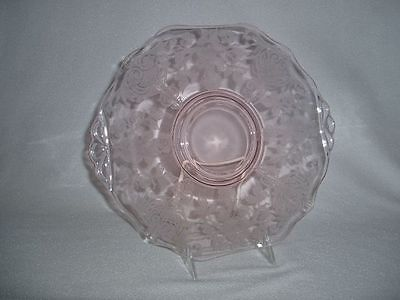 Cambridge Apple Blossom Pink Cracker Plate