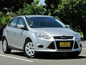 2014 Ford Focus LW MKII Ambiente PwrShift Silver 6 Speed Sports Automatic Dual Clutch Hatchback Blair Athol Port Adelaide Area Preview