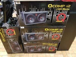 SUB D'AUTO Q'POWER  2X 12 POUCES 1600 WATTS A 199.95$$