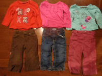 Size 2 girl clothes whole lot