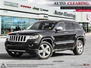 2013 Jeep Grand Cherokee Overland/ 1 OWNER LOCAL LEASE