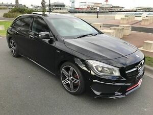 2015 Mercedes-Benz CLA250 X117 Sport Shooting Brake DCT 4MATIC Black 7 Speed West Melbourne Melbourne City Preview