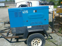 500 AMP Miller Diesel Powered Welder c/w Trailer