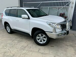 2017 Toyota Landcruiser Prado GDJ150R GXL White 6 Speed Sports Automatic Wagon Springwood Logan Area Preview