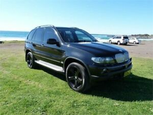 2006 BMW X5 E53 4.4I Black 6 Speed Automatic Wagon Fairy Meadow Wollongong Area Preview