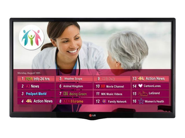 "LG 22"" Commercial Hospital Grade LED Healthcare HDTV Pro:Centric Pro:Idiom Clone"