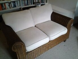 Pair of Wicker Sofas in excellent condition for sale