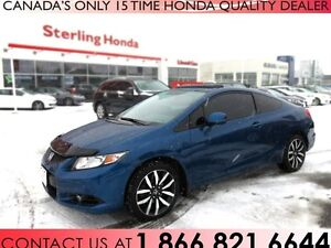 2013 Honda Civic EX-L COUPE | NAVIGATION | TINT | ALL WEATHER MA