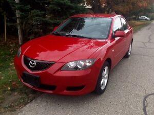 2006 Mazda 3 Low Km Cert