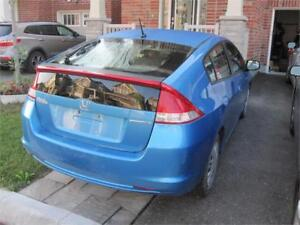 2010 Honda Insight LX Clean carproof 1 Owner Low KM  Hybrid Gas