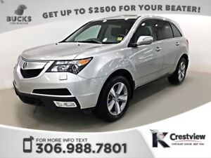 2012 Acura MDX Tech Pkg AWD V6 | Leather | Sunroof | Navigation