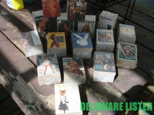 Large Mixed Lot of 2 Packs = 200+ cards Adult X-Rated Playboy Trading Cards ✅