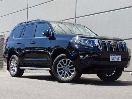 2017 Toyota Landcruiser Prado GDJ150R Kakadu Black 6 Speed Sports Automatic Wagon Maddington Gosnells Area Preview
