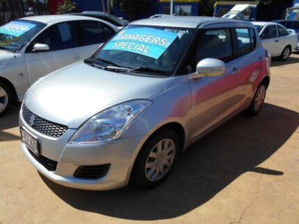 2013 Suzuki Swift FZ GL Silver 5 Speed Manual Hatchback Christies Beach Morphett Vale Area Preview